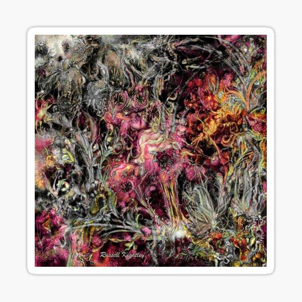 Qualia's Garden (Summer) Sticker