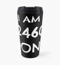 Valjean's motto Black Travel Mug