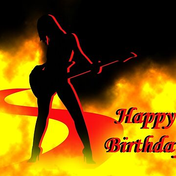Happy Birthday Black Fire by graphicbuttease