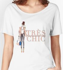 Très Chic Women's Relaxed Fit T-Shirt