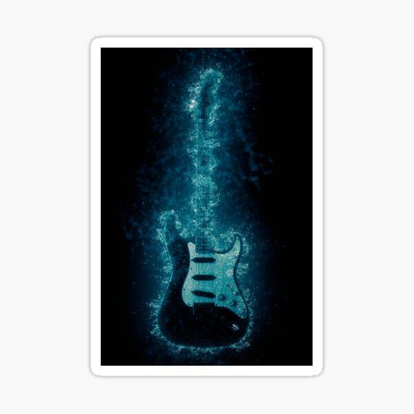 Stratocaster Sticker
