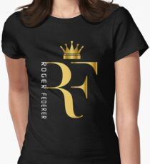 Roger Federer Womens Fitted T-Shirt
