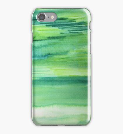 Untitled (Green)  iPhone Case/Skin