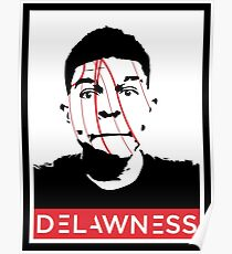 DELAWNESS THE GIANT Poster