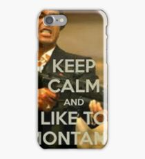 tony montana iPhone Case/Skin