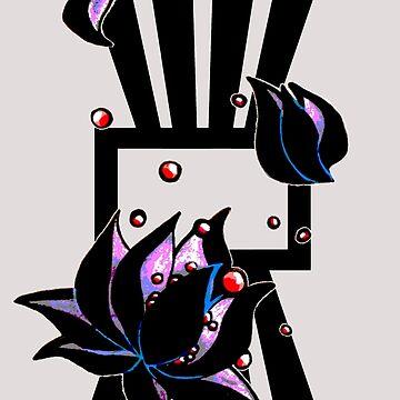 darkest lotus by HiddenStash
