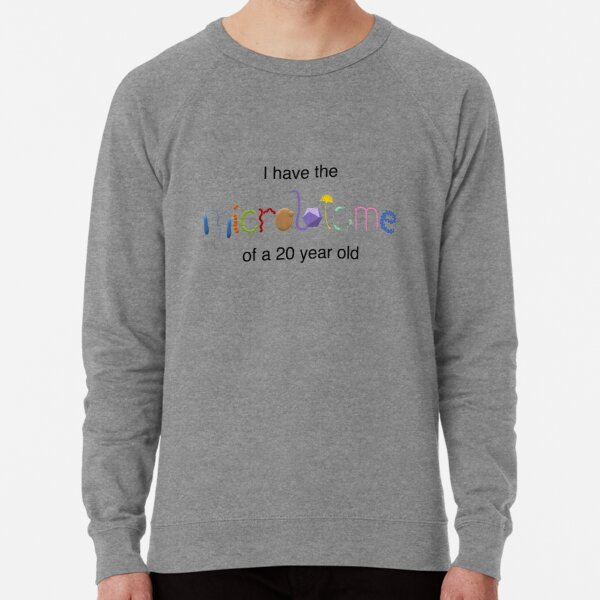 Young microbiome for light shirts Lightweight Sweatshirt