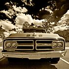 1968 GMC Pickup - sepia by mal-photography