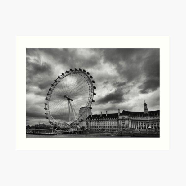 Eye of the Storm- London Art Print