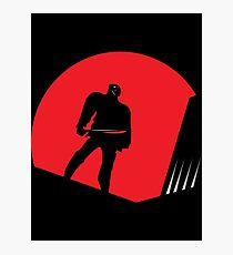 Jason Takes Gotham City Photographic Print