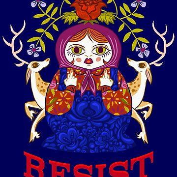 Resist (Matryoshka) by jenfridy