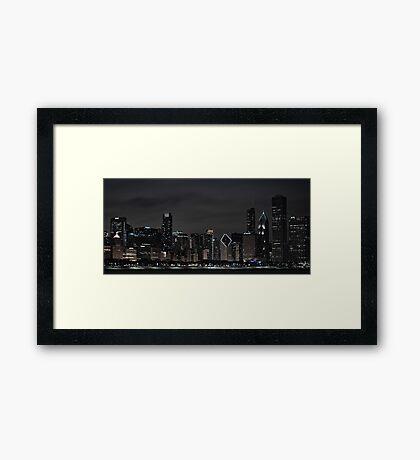 Best Skyline on the Planet Framed Print