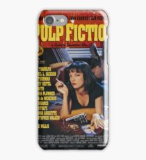 Pulp Fiction - Poster iPhone Case/Skin