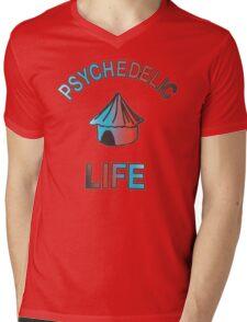 Psychedelic Life  Mens V-Neck T-Shirt