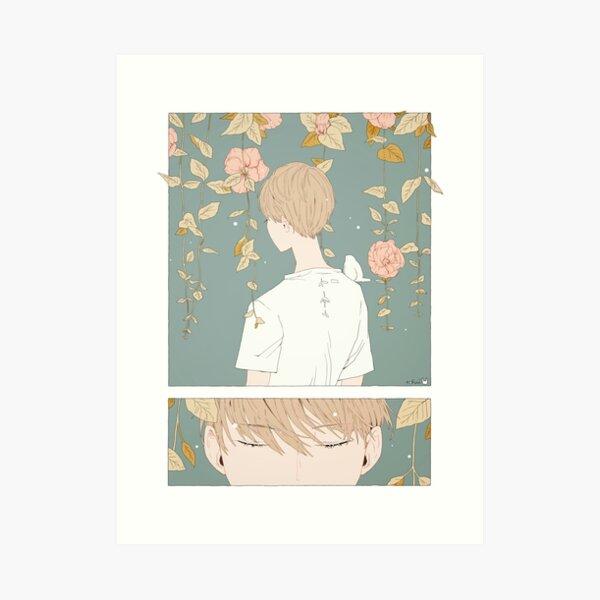 listen. Art Print