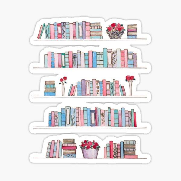 Springtime Bookcase Sticker