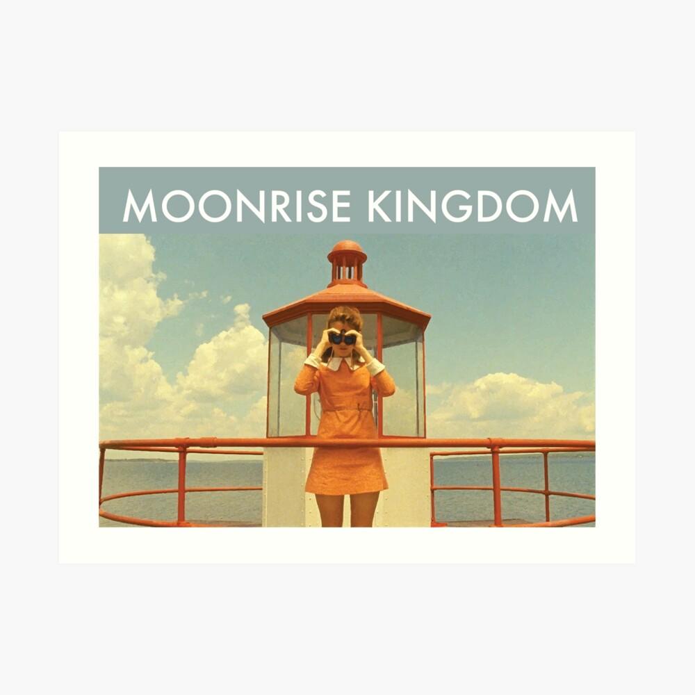 Moonrise Kingdom Lámina artística