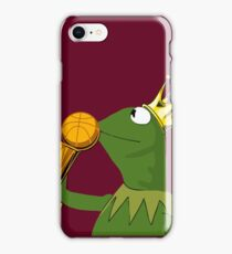 Frog Kissing Championship Trophy iPhone Case/Skin