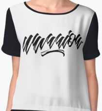 Warrior Women's Chiffon Top