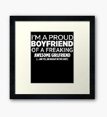 Girlfriend  Framed Print