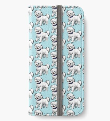 Bichon Frise iPhone Wallet