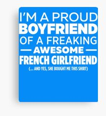 French Girlfriend  Canvas Print