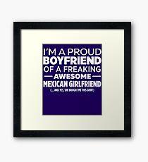Mexican Girlfriend  Framed Print