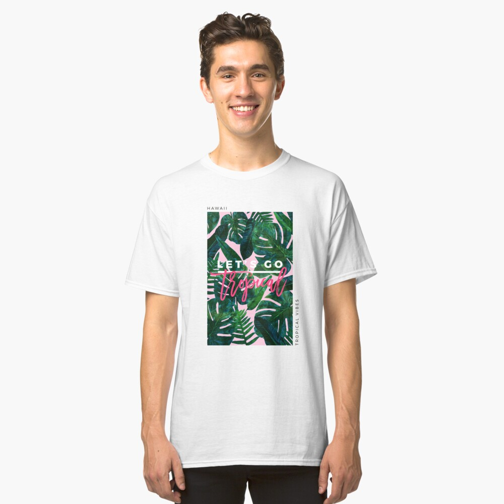 Perceptive Dream || #Redbubble #tropical #buyart Classic T-Shirt
