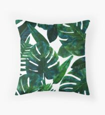 Perceptive Dream || #Redbubble #tropical #buyart Throw Pillow