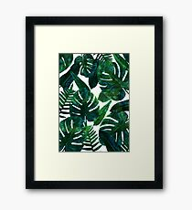 Lámina enmarcada Perceptive Dream || #Redbubble #tropical #buyart