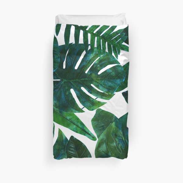 Perceptive Dream || #Redbubble #tropical #buyart Duvet Cover