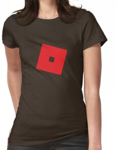 Roblox square logo classic Womens Fitted T-Shirt