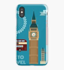 London Symbols Travel Time Set iPhone Case/Skin