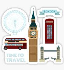 London Symbols Travel Time Set Sticker