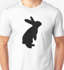 Schwarzer Hase Slim Fit T-Shirt