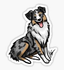 Australian Shepherd Sticker