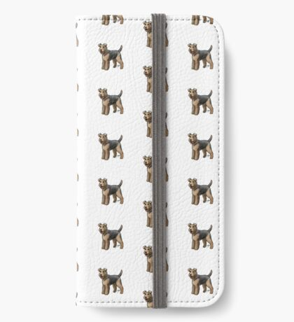 Airedale  iPhone Wallet