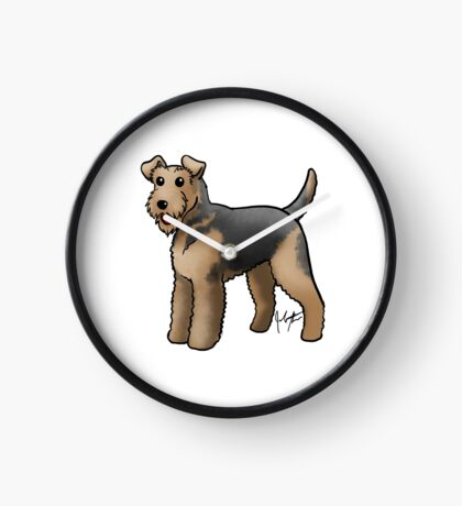 Airedale  Clock