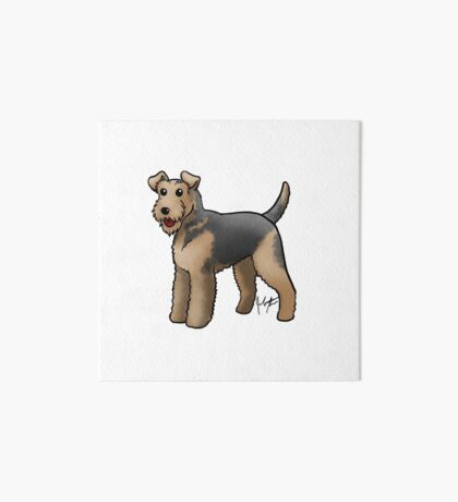 Airedale  Art Board