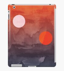 Star Wars A New Hope inspired artwork two suns iPad Case/Skin