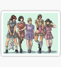 Snk girl group Sticker