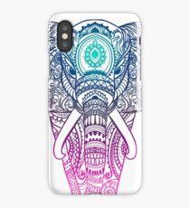 Elephant Mandala iPhone Case
