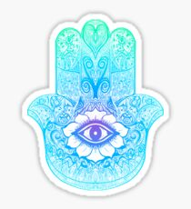Hamsa - Hand of Fatima - Mandala Sticker
