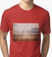 Golden sunrise Tri-blend T-Shirt