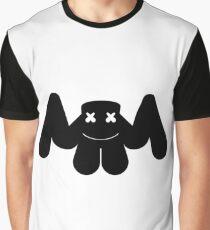 MARSHMELLO IN BLACK Graphic T-Shirt