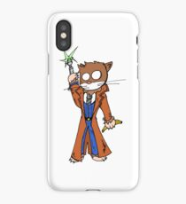 Doctor cat iPhone Case/Skin