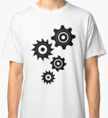 Industrial pattern. Gears Classic T-Shirt