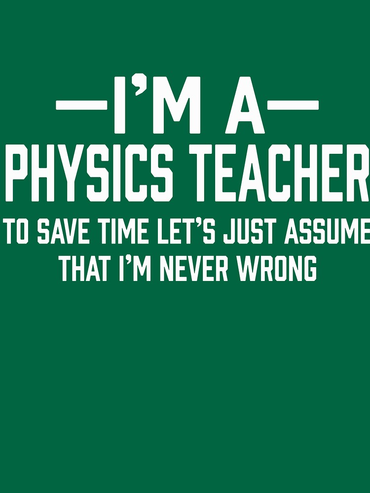 Physics Teacher by AlwaysAwesome