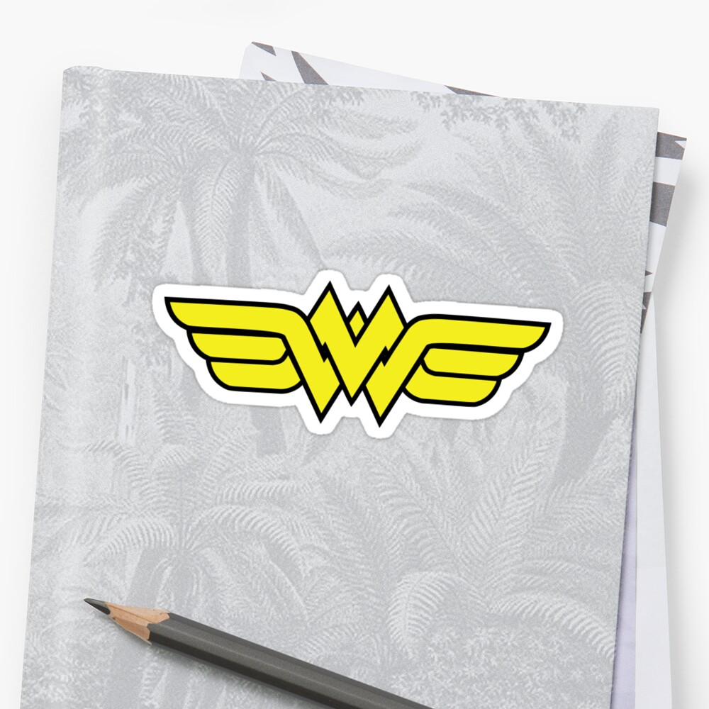 Batman writing stickers