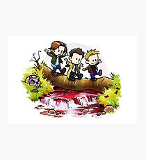 Team Free Will Goes Exploring Photographic Print